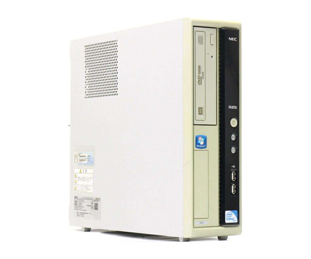 NEC MK25E/R-B Celeron E3300 2.5GHz 2GB 160GB(HDD) アナログRGB出力 DVD+-RW WindowsXP Pro 32bit