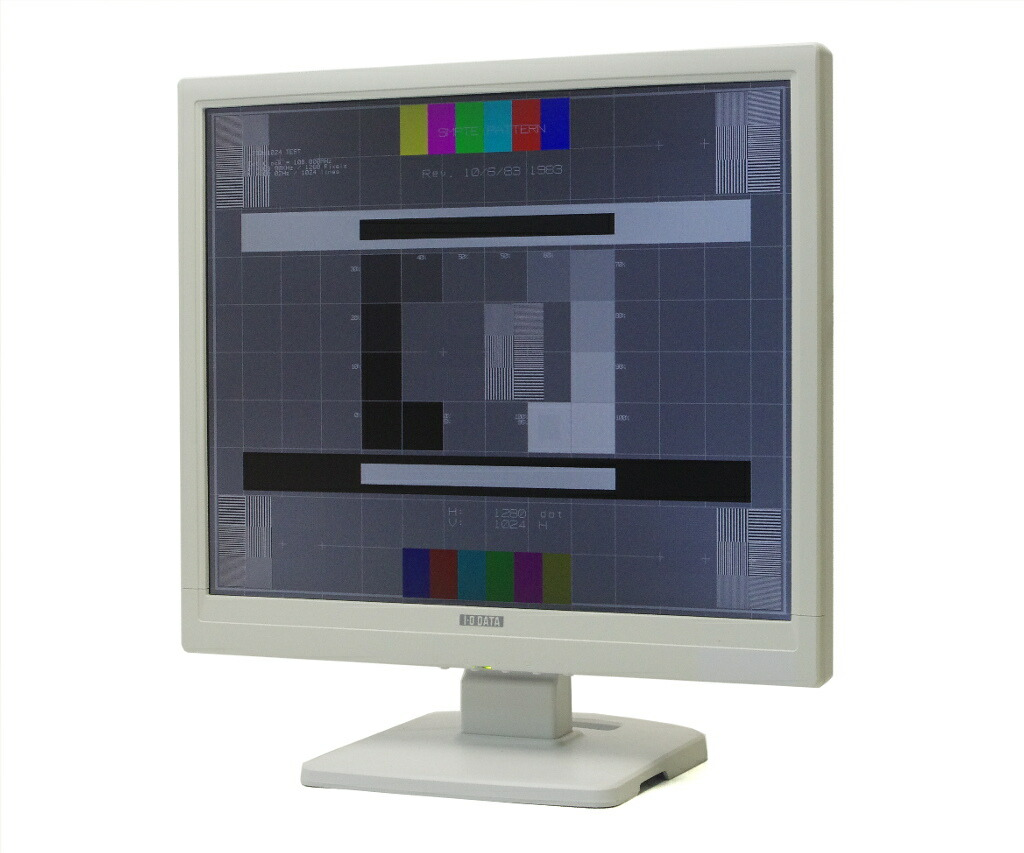 I-ODATA LCD-A177GE 17インチ 非光沢 スクエアパネル SXGA 1280x1024ドット アナログRGB入力のみ