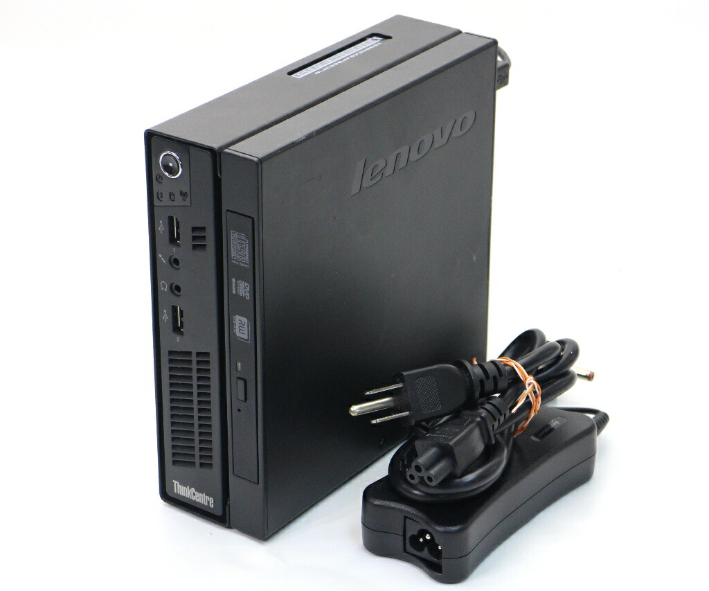 Lenovo ThinkCentre M72e Celeron G460 1.8GHz 4GB 320GB(HDD) DisplayPort Windows7 Pro 64bit