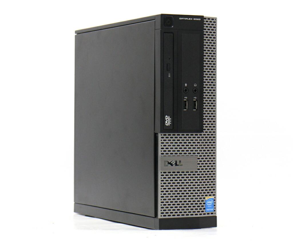 DELL OptiPlex 3020 SFF Pentium G3250 3.2GHz 4GB 500GB(HDD) DisplayPort Windows10 Pro 64bit