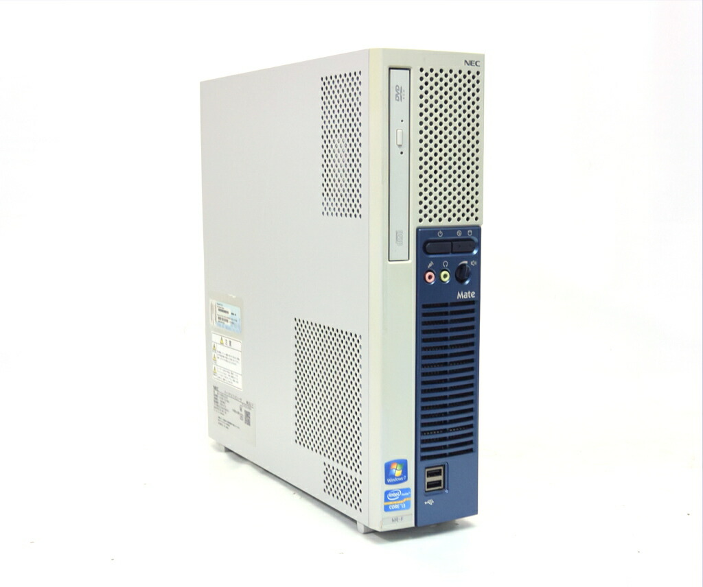 NEC MK33L/E-F Core i3-3220 3.3GHz 4GB 250GB(HDD) DVI-D アナログRGB出力 Windows7 Pro 32bit