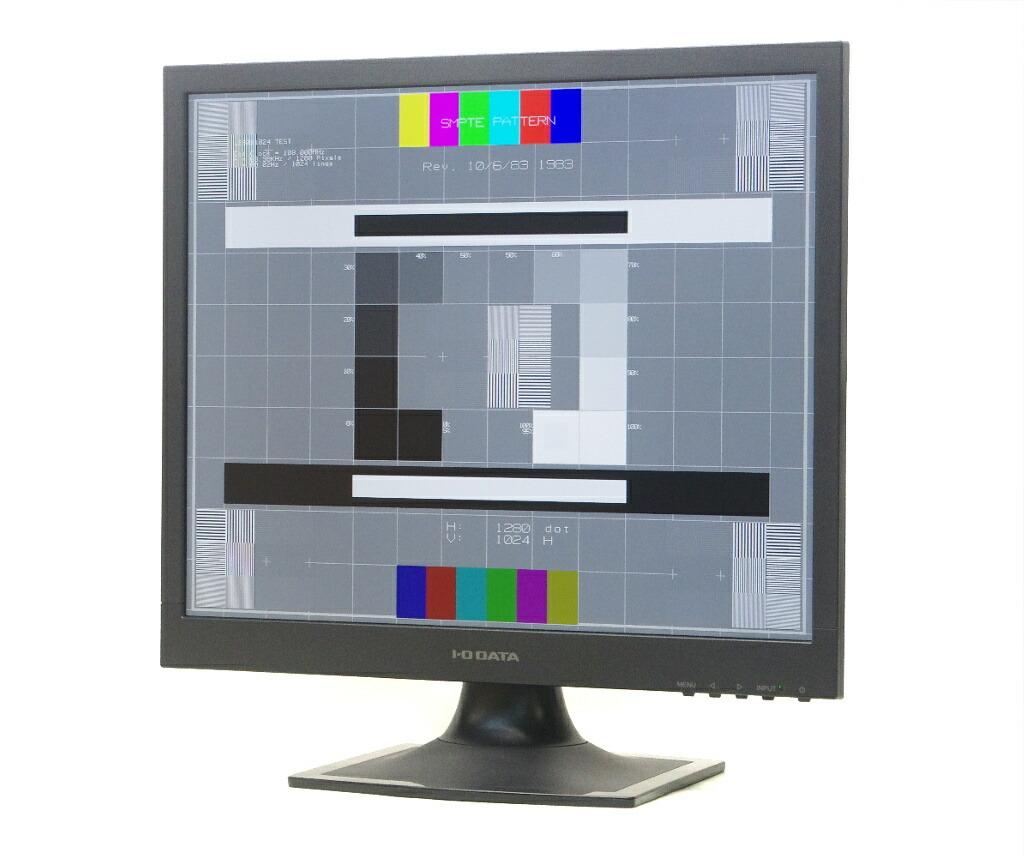 I-ODATA AD-191SE 19インチ 非光沢 スクエアパネル SXGA 1280x1024ドット DVI-D/アナログRGB入力