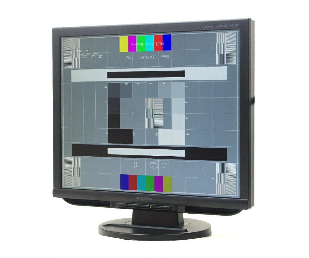 MITSUBISHI RDT196LM2 19インチ 非光沢 スクエアパネル SXGA 1280x1024ドット DVI-D/アナログRGB入力