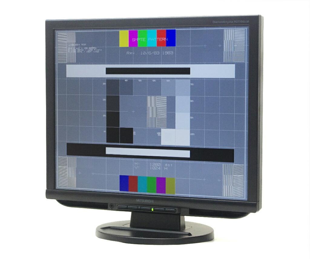 MITSUBISHI RDT196LM 19インチ 非光沢 スクエアパネル SXGA 1280x1024ドット DVI-D/アナログRGB入力