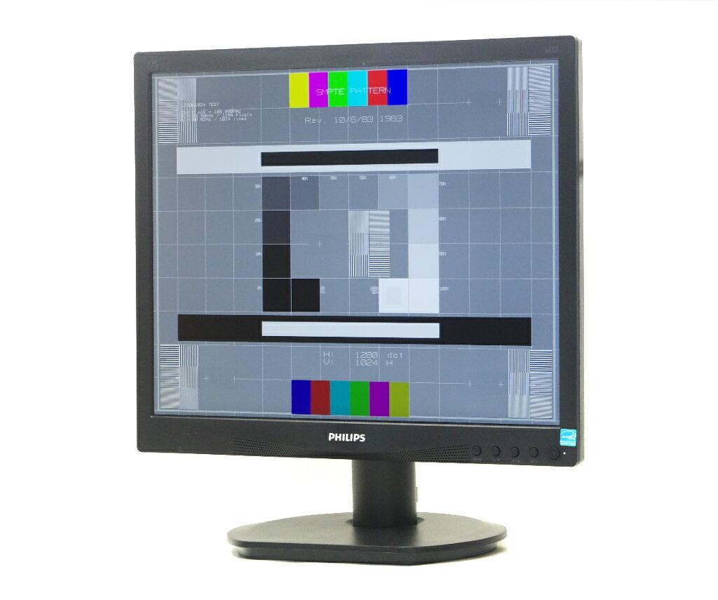PHILIPS 17S4LA 17インチ スクエア 非光沢パネル SXGA 1280x1024ドット DVI-D/アナログRGB入力