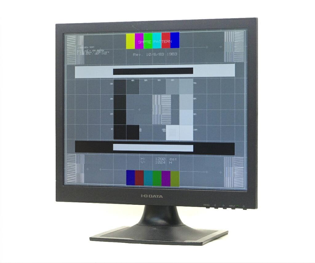 I-ODATA LCD-AD172SEB 17インチ スクエア 非光沢パネル SXGA 1280x1024ドット DVI-D/アナログRGB入力