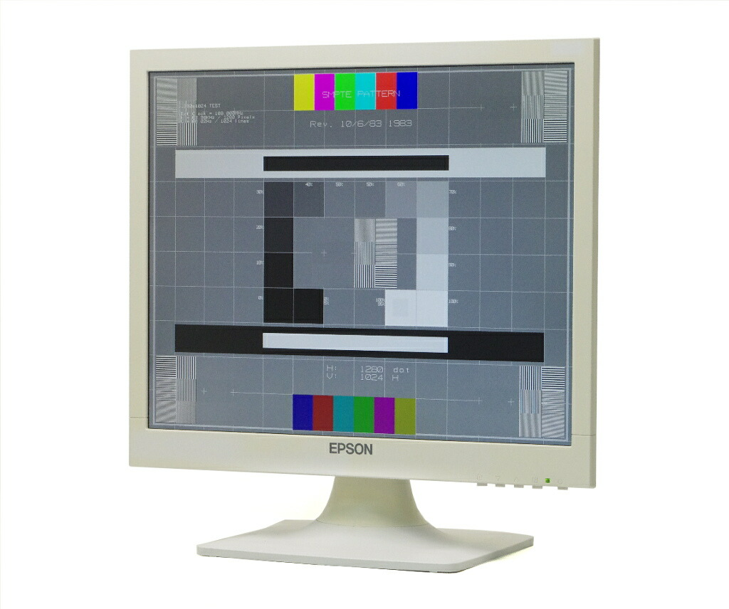 EPSON LD1771 17インチ スクエア 非光沢パネル SXGA 1280x1024ドット DVI-D/アナログRGB入力