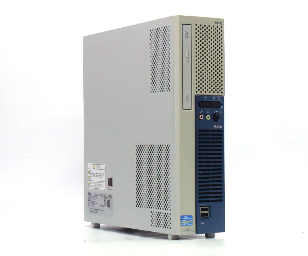 NEC Mate MJ32M/E-F Core i5-3470 3.2GHz 4GB 500GB(HDD) DVI-D Windows10 Pro 64bit