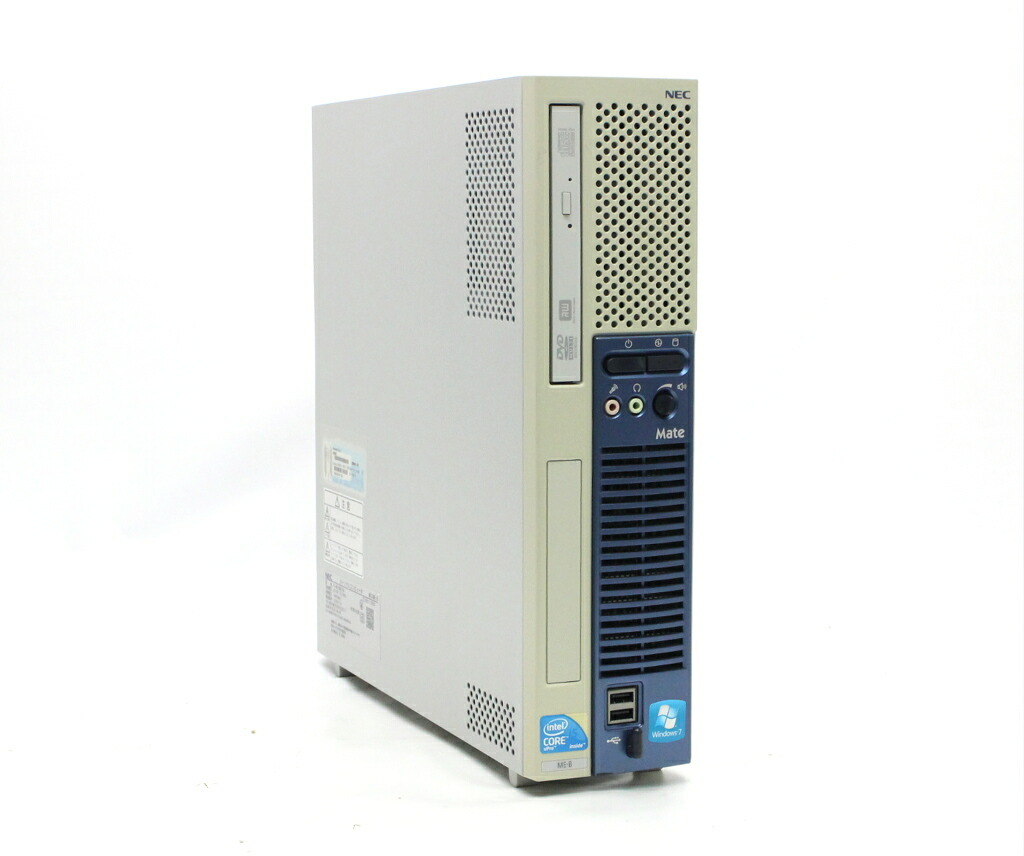 NEC Mate MK33M/E-B Core i5-660 3.33GHz 2GB 160GB(HDD) DVI-D Windows7 Pro 32bit