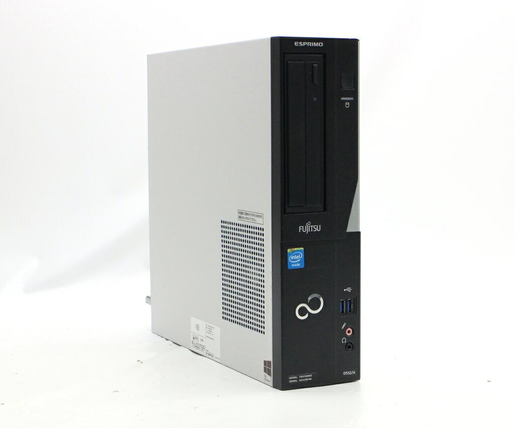 富士通 ESPRIMO D552/H Celeron G1820 2.7GHz 4GB 320GB(HDD) DVI-D Windows7 Pro 64bit