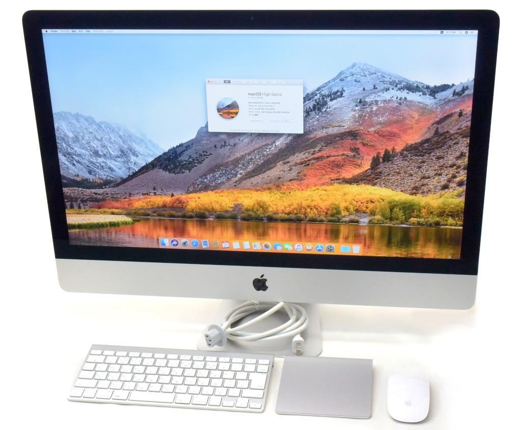 Apple iMac 27インチ Retina 5K Late 2015 Core i7-6700K 4GHz 32GB 1TB 24GB Radeon R9 M390