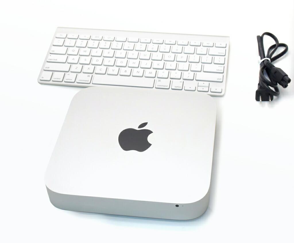 Apple Mac mini Late 2014 Core i5-4278U 2.6GHz 8GB 1TB(HDD) HDMI Thunderbolt出力