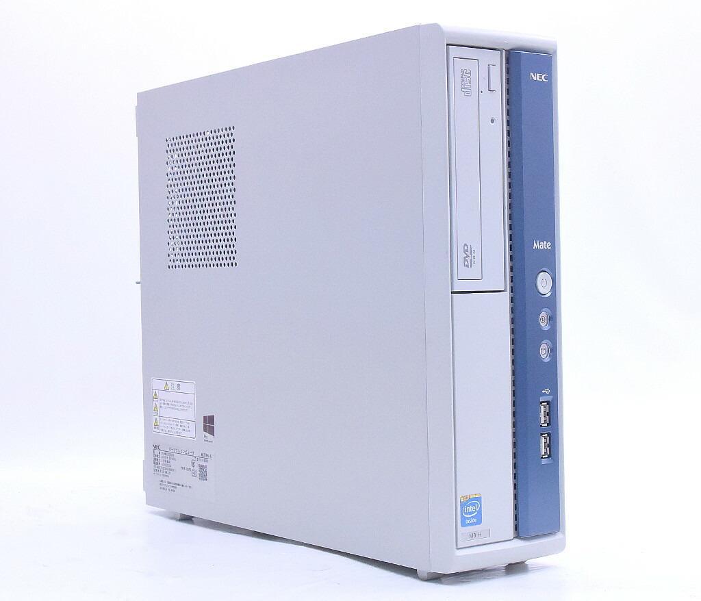 NEC Mate MK27E/B-H Celeron G1620 2.7GHz 4GB 250GB(HDD) DVI-D Windows10 Pro 64bit