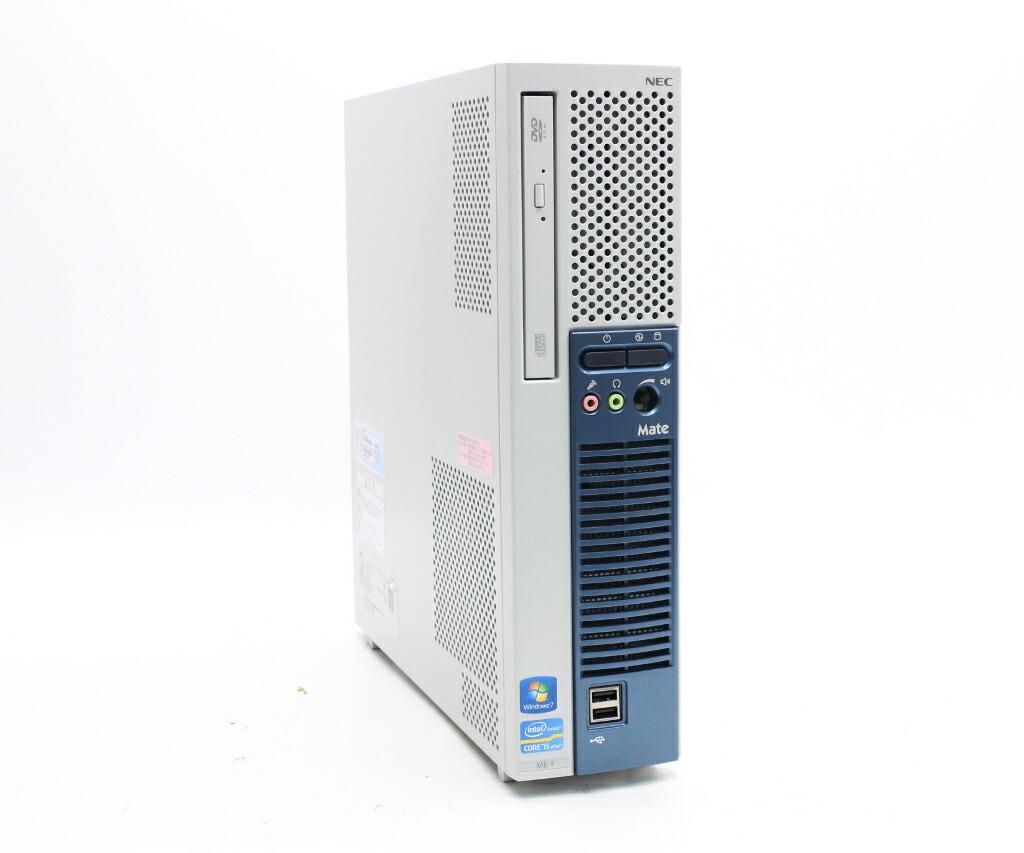 NEC MK32M/E-F Core i5-3470 3.2GHz 2GB 500GB(HDD) DVI-D アナログRGB出力 Windows7 Pro 64bit