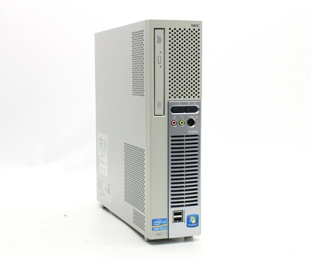 NEC MK25M/E-C Core i5-2400S 2.5GHz 2GB 500GB(HDD) DVI-D アナログRGB出力 Windows7 Pro 32bit