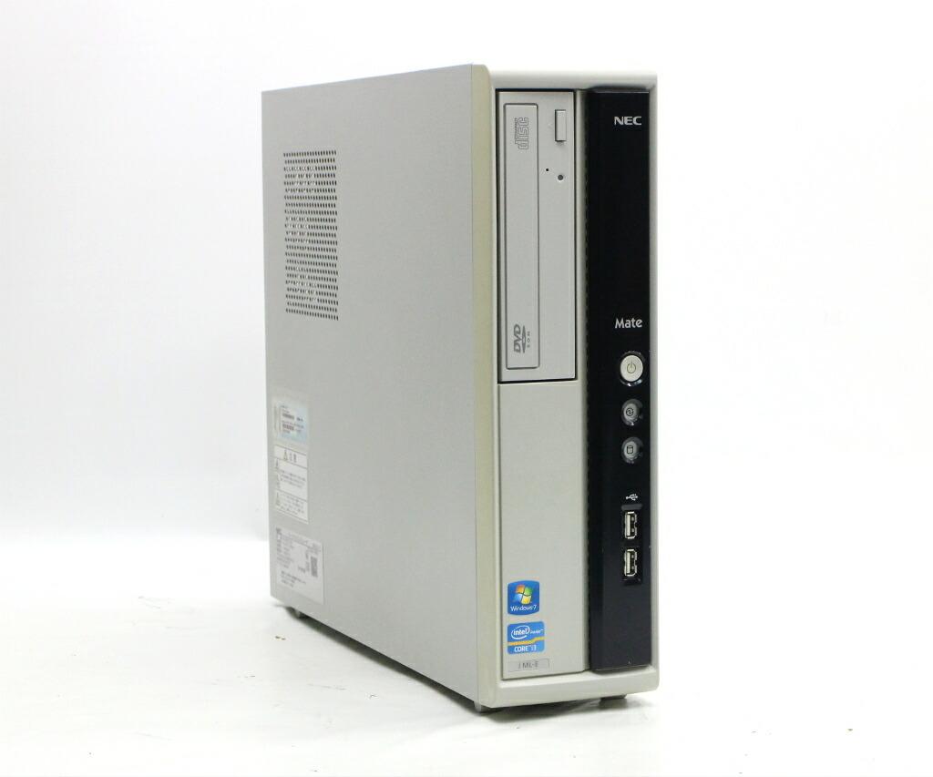 NEC Mate MJ33L/L-E Core i3-2120 3.3GHz 4GB 250GB(HDD) DVI-D Windows7 Pro 64bit