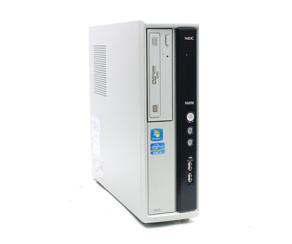 NEC Mate MJ33L/L-D Core i3-2120 3.3GHz 2GB 250GB(HDD) DVI-D Windows7 Pro 32bit