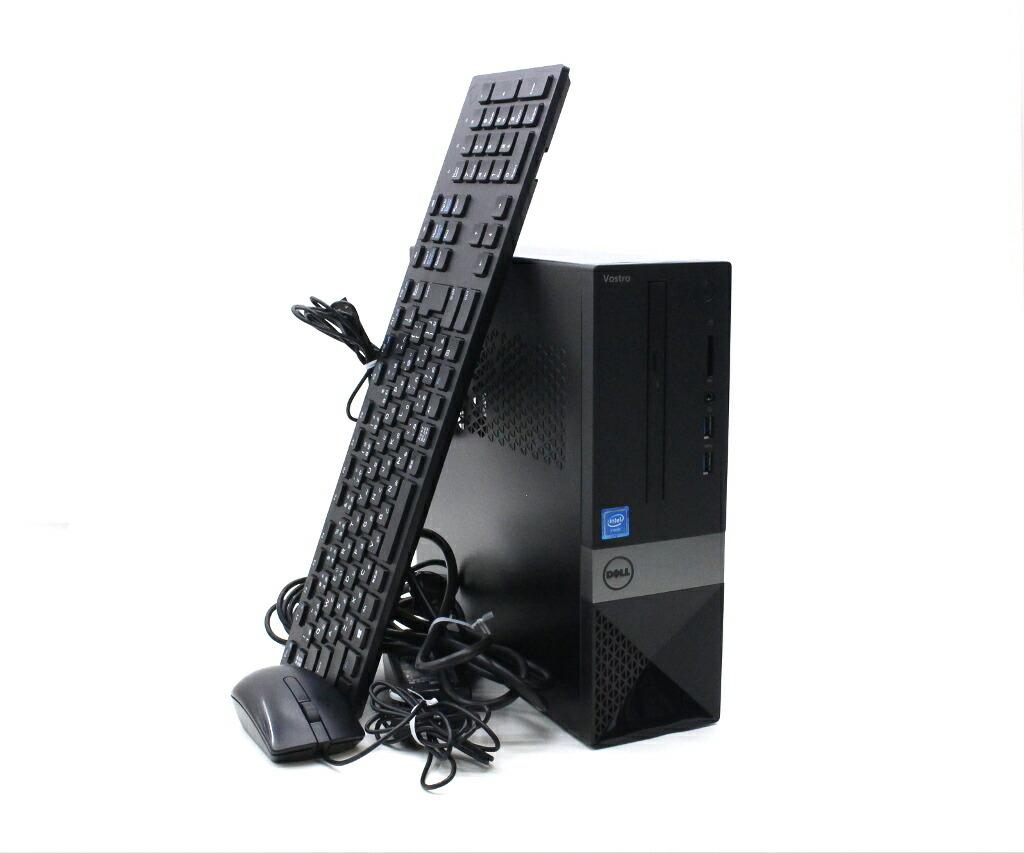DELL Vostro 3252 Celeron J3160 1.6GHz 4GB 500GB(HDD) HDMI アナログRGB出力 Windows10 Pro 64bit