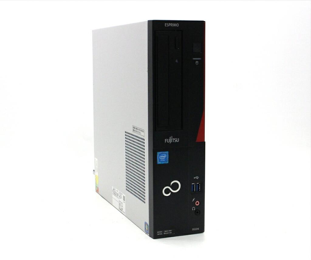 富士通 ESPRIMO D552/K Celeron G1840 2.8GHz 4GB 500GB(HDD) DVI-D Windows7 Pro 64bit