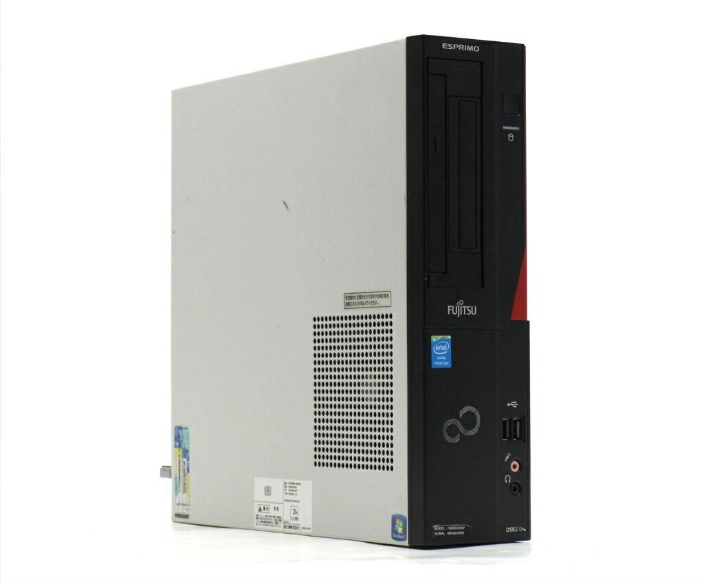 富士通 ESPRIMO D582/G Pentium G2020 2.9GHz 4GB 500GB(HDD) DVI-D Windows10 Pro 64bit