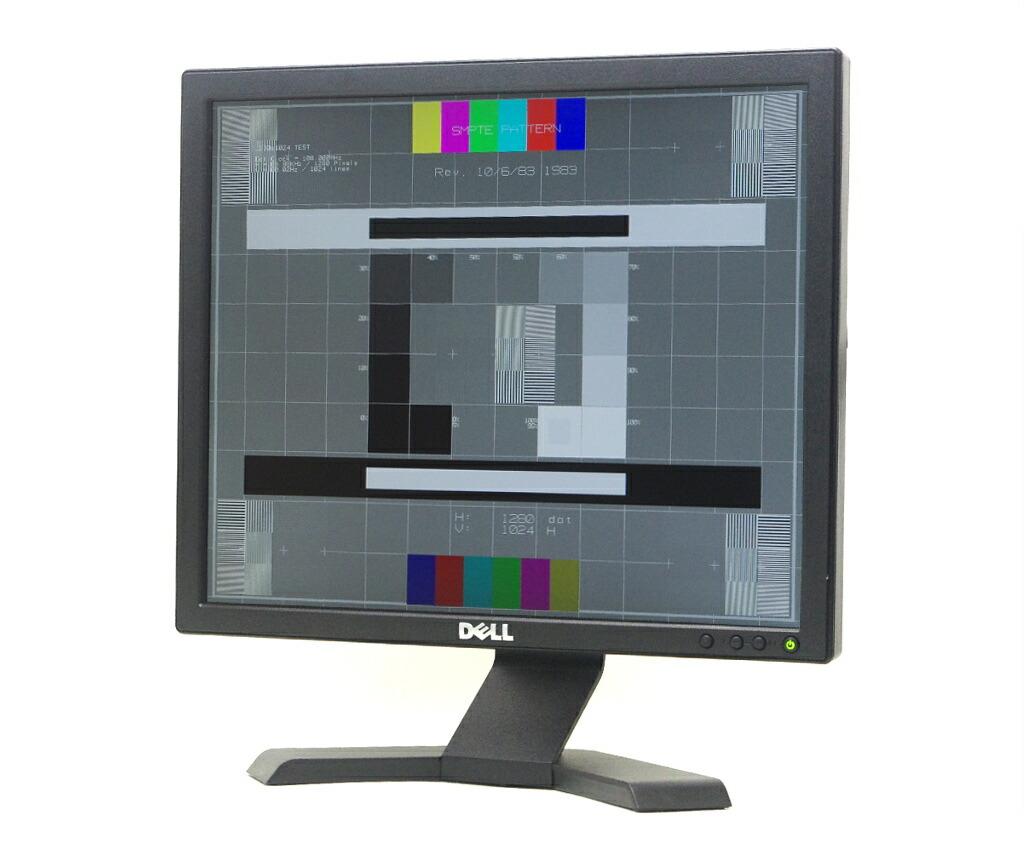 DELL E170S 17インチ スクエア 非光沢パネル SXGA 1280x1024 アナログRGB入力のみ