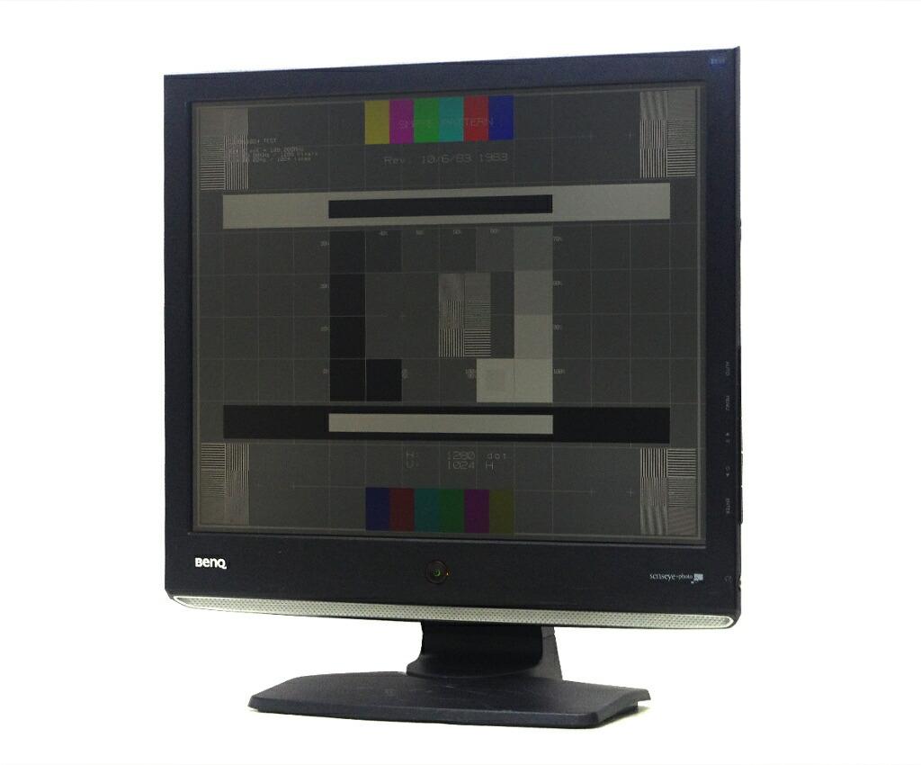 BenQ E700 ET-0010-B 17インチ スクエア 非光沢パネル SXGA 1280x1024ドット DVI-D/アナログRGB入力