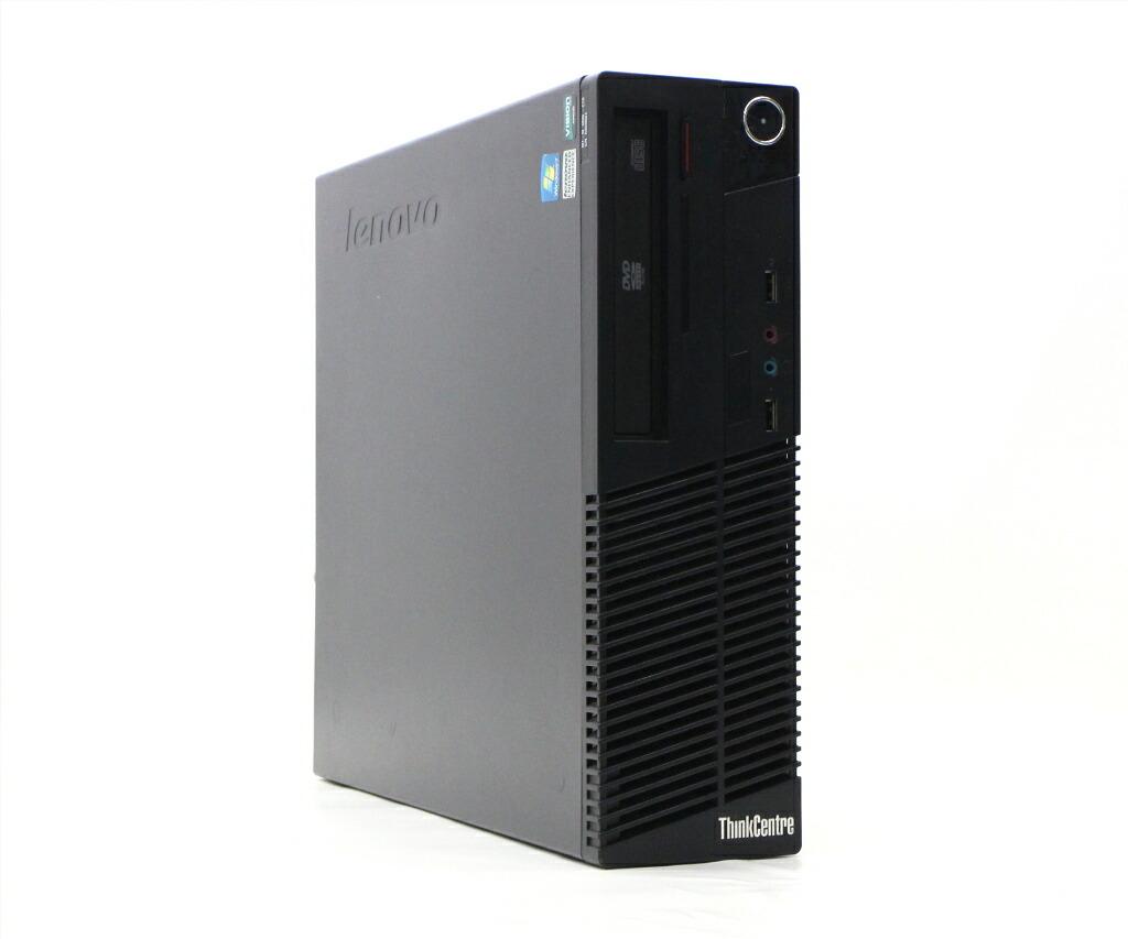 Lenovo ThinkCentre M75e Athlon II X2 B22 2.8GHz 4GB 500GB(HDD) DVI-D OSなし