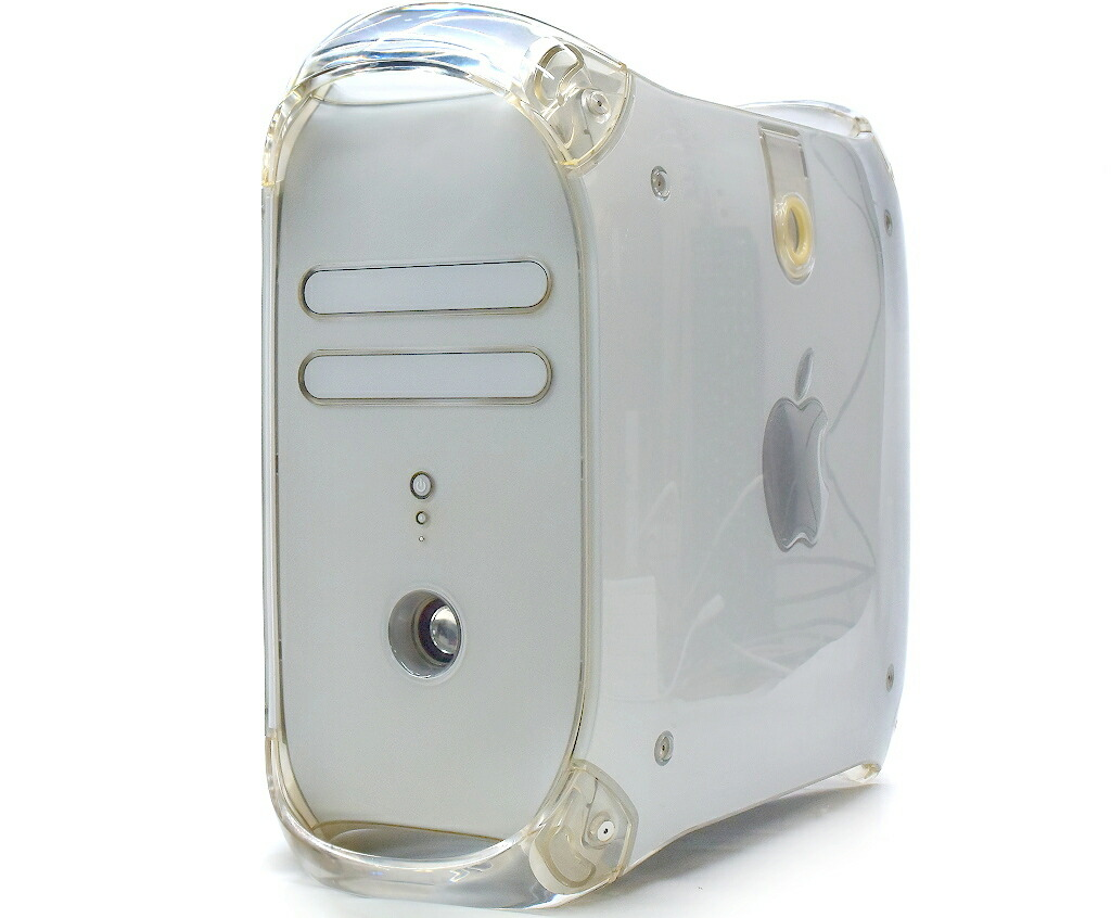 Apple PowerMac G4 QuickSilver 2002 PowerPC G4 800MHz 1GB 80GB Radeon7500 CD-RW OSなし