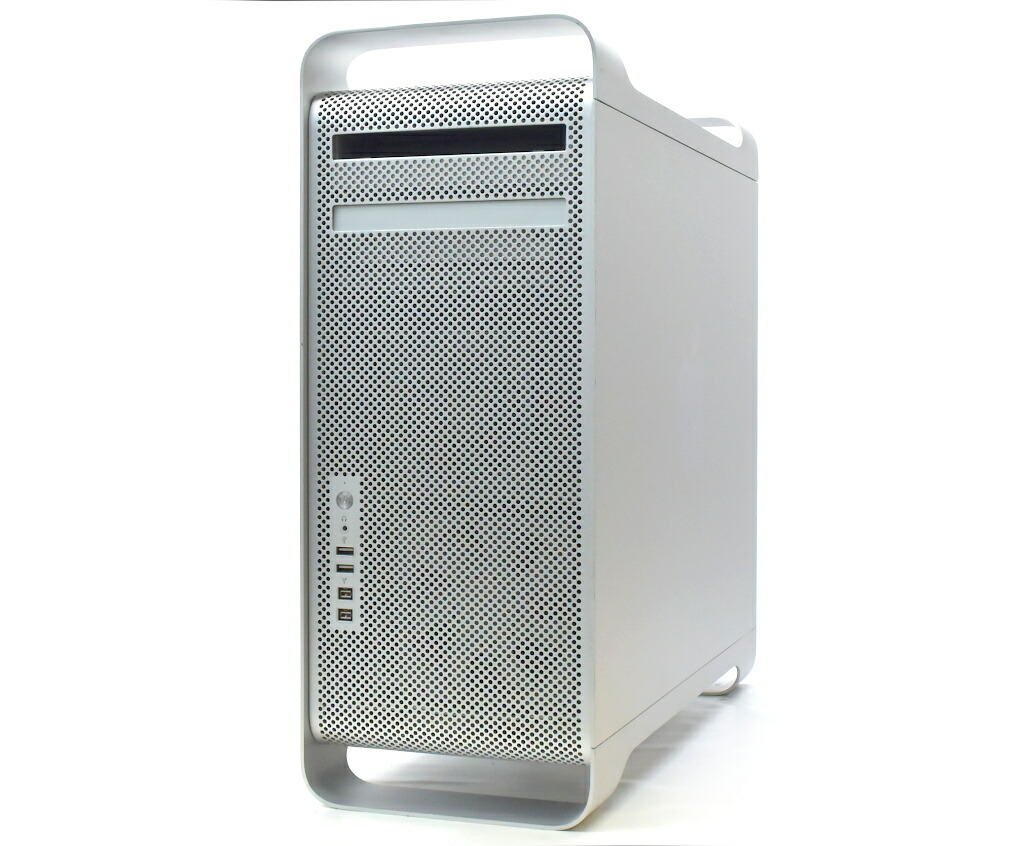 Apple Mac Pro Early 2009 Xeon W3520 2.66GHz 6GB 640GB(HDD) GeForce GT120 DVD-RW OSX 10.9.5