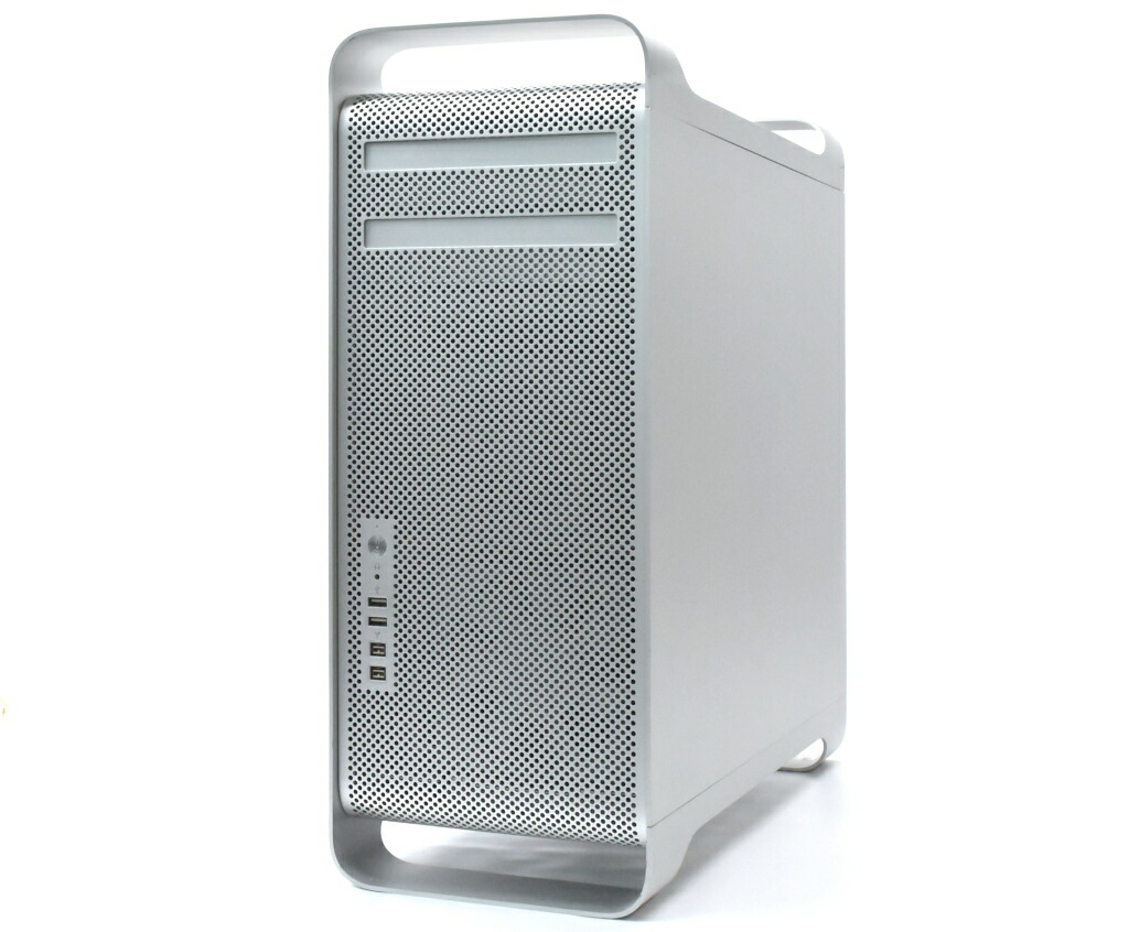 Apple Mac Pro Early 2009 Xeon W3520 2.66GHz 8GB 640GB(HDD) GeForce GT120 DVD-RW OSX 10.9.5