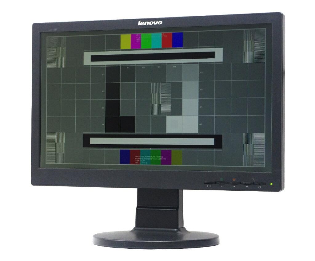 Lenovo LS1922wA 18.5インチ 非光沢パネル HD 1366x768ドット アナログRGB入力のみ