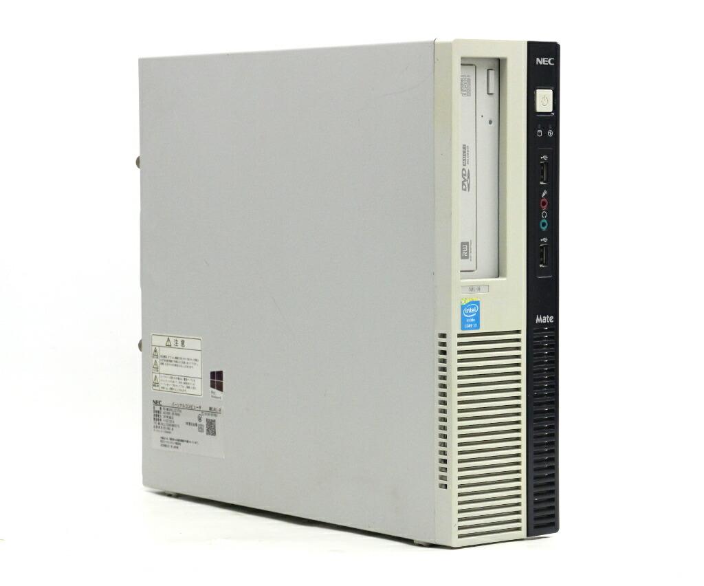 NEC Mate MK34L/L-H Core i3-4130 3.4GHz 4GB 250GB(HDD) DisplayPort Windows10 Pro 64bit
