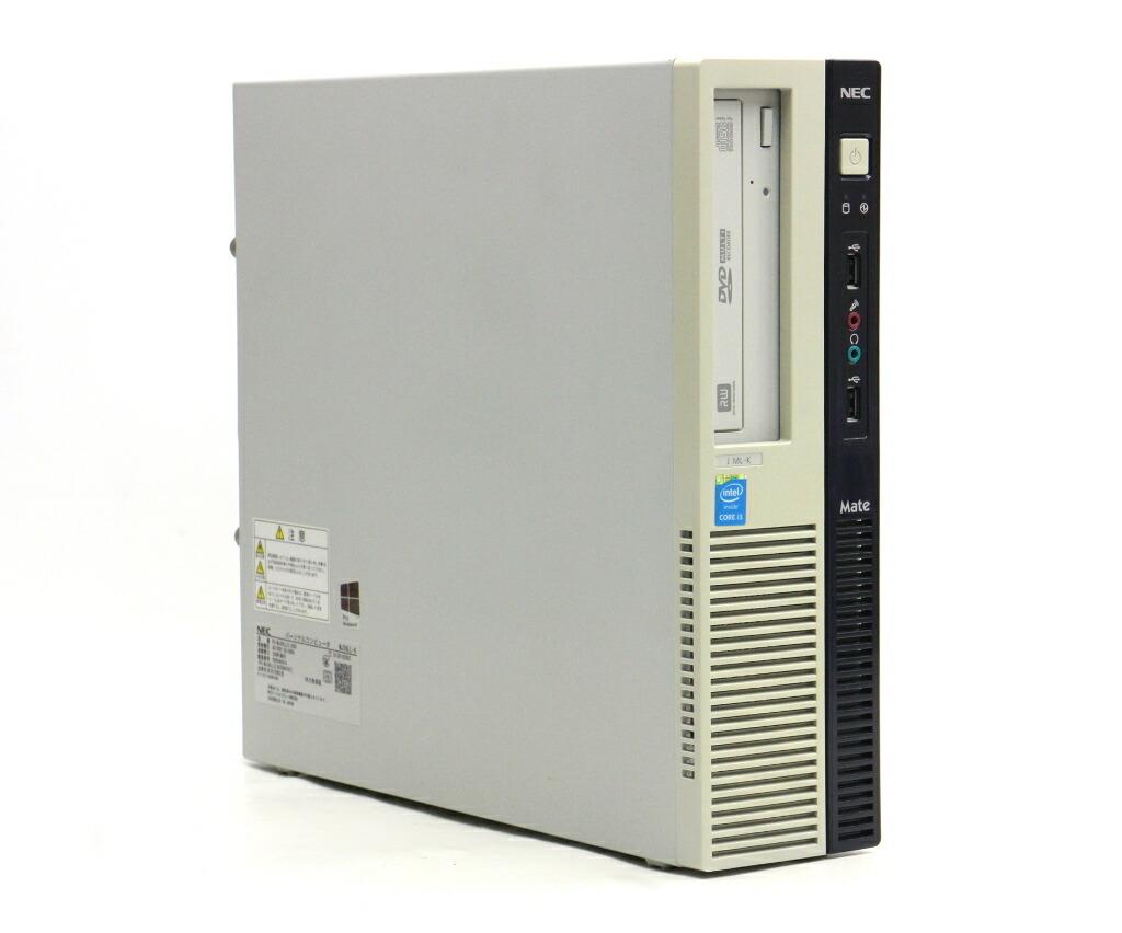 NEC Mate MJ36L/L-K Core i3-4160 3.6GHz 4GB 500GB(HDD) DisplayPort Windows10 Pro 64bit