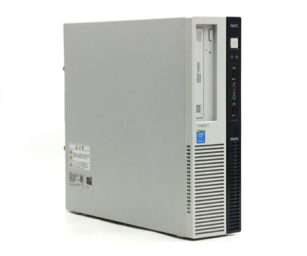 NEC Mate MJ37L/L-N Core i3-4170 3.7GHz 4GB 500GB(HDD) DisplayPort Windows10 Pro 64bit