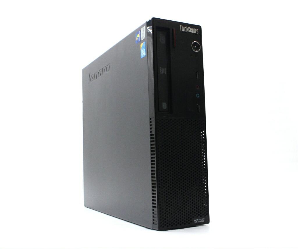 Lenovo ThinkCentre A70 Core2Duo E7500 2.93GHz 2GB 320GB(HDD) Windows7 Pro 32bit