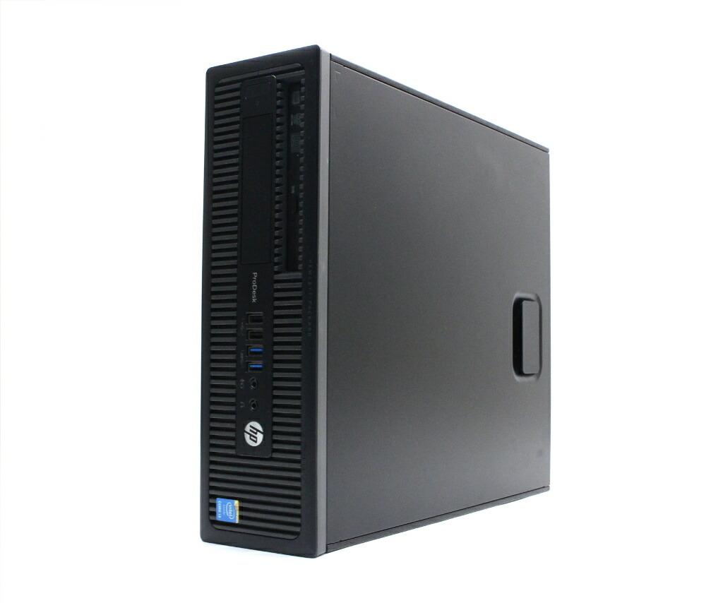 hp ProDesk 600 G1 SFF Core i3-4160 3.6GHz 4GB 500GB(HDD) DisplayPort x2 Windows10 Pro 64bit