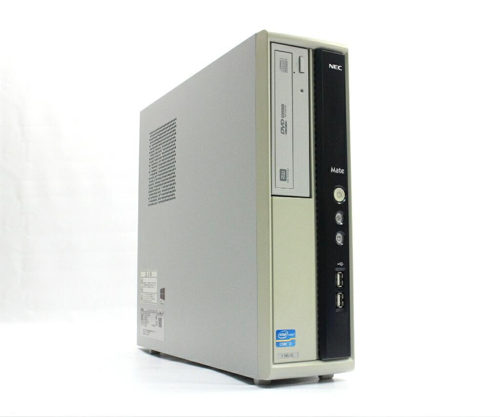 NEC Mate MJ34L/L-G Core i3-3240 3.4GHz 4GB 250GB(HDD) DVI-D Windows10 Pro 64bit