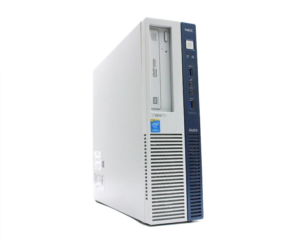NEC MK36L/B-M Core i3-4160 3.6GHz 4GB 500GB(HDD) DisplayPort Windows10 Pro 64bit