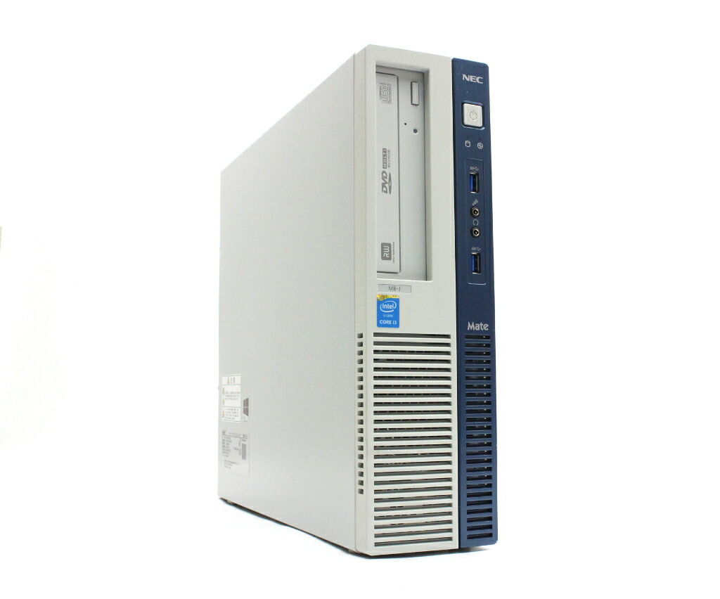 NEC MK35L/B-J Core i3-4150 3.5GHz 4GB 500GB(HDD) DisplayPort Windows10 Pro 64bit