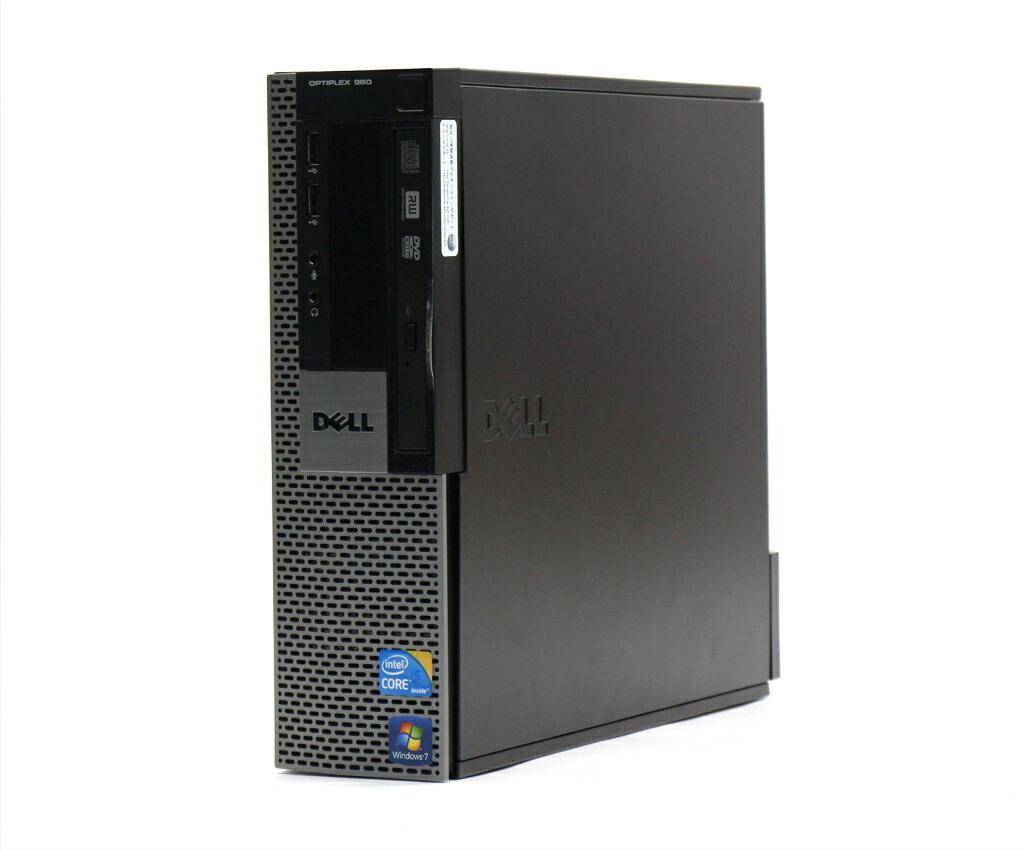 DELL OptiPlex 980 SFF Core i5-660 3.33GHz 4GB 160GB(HDD) DisplayPort Windows7 Pro 32bit