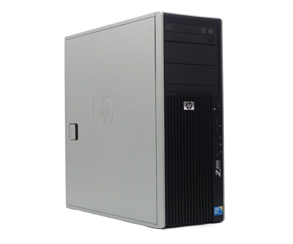 hp Z400 6-DIMM Workstation 水冷 Xeon W3565 3.2GHz 4GB 250GB Quadro 2000 WindowsXP Pro 32bit