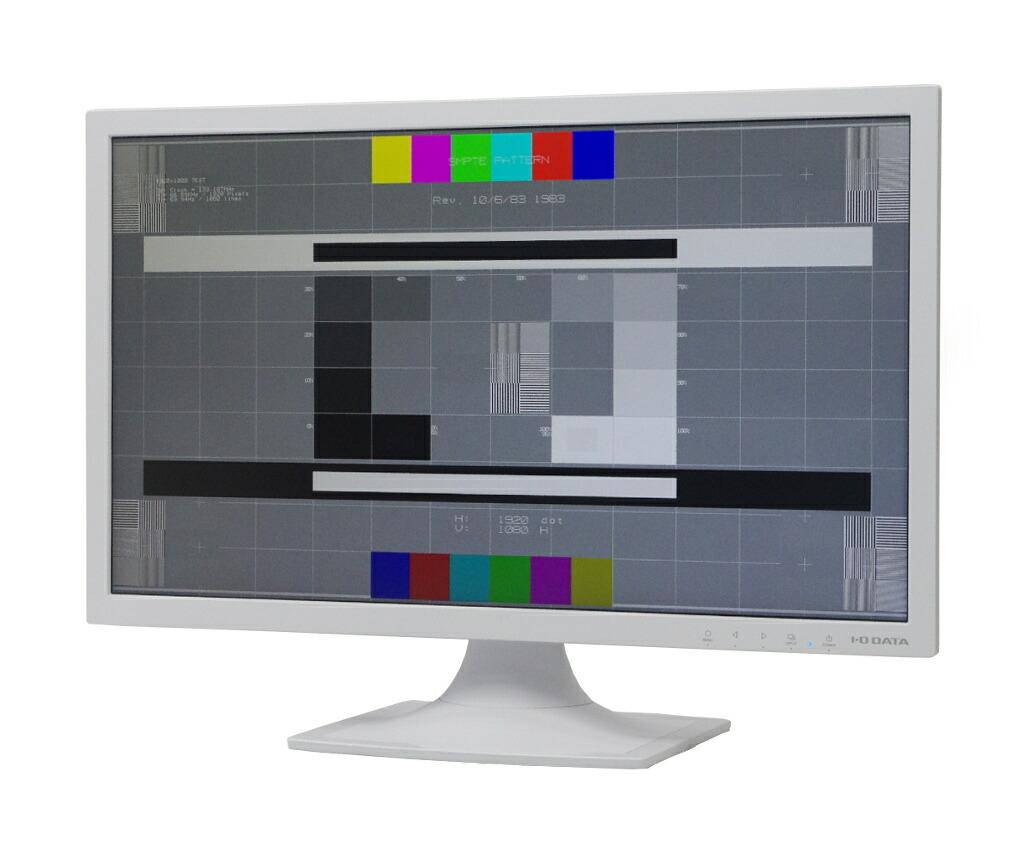 I-ODATA LCD-AD211ESW 20.7インチ 非光沢パネル フルHD 1920x1080ドット DVI-D/アナログRGB入力