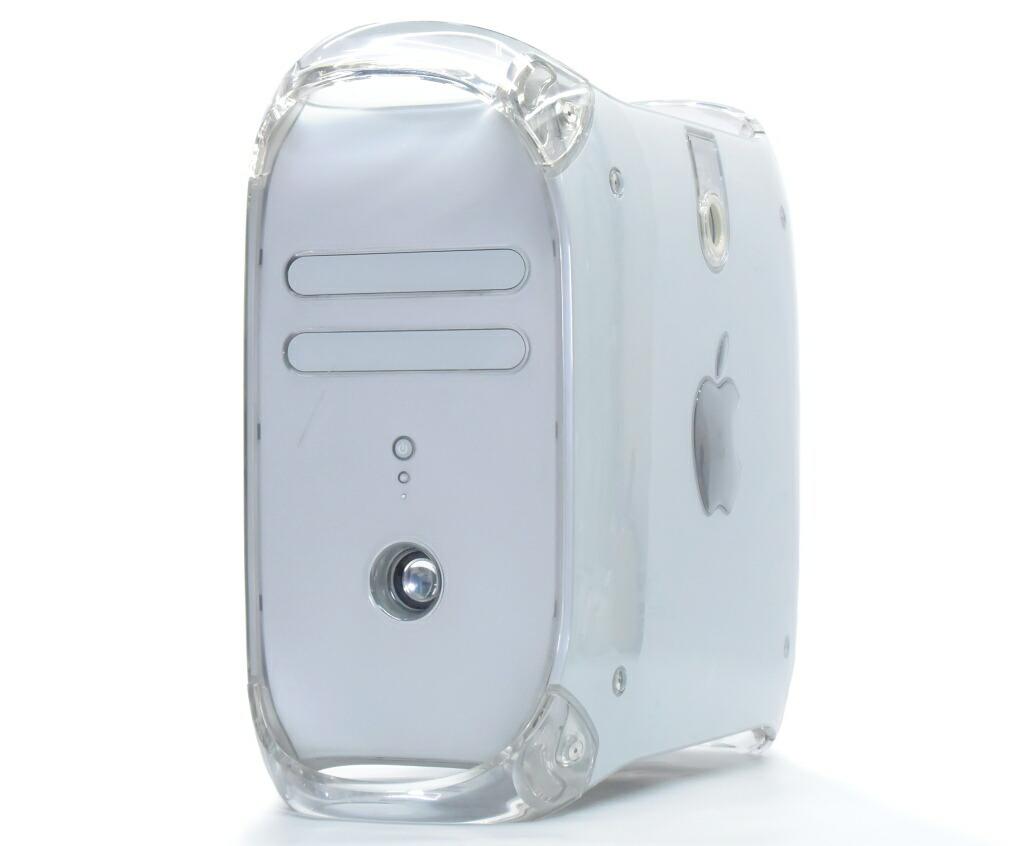 Apple PowerMac G4 QuickSilver 2002 PowerPC G4 800MHz 1.25GB 120GB Radeon 7500 CD-RW OSなし