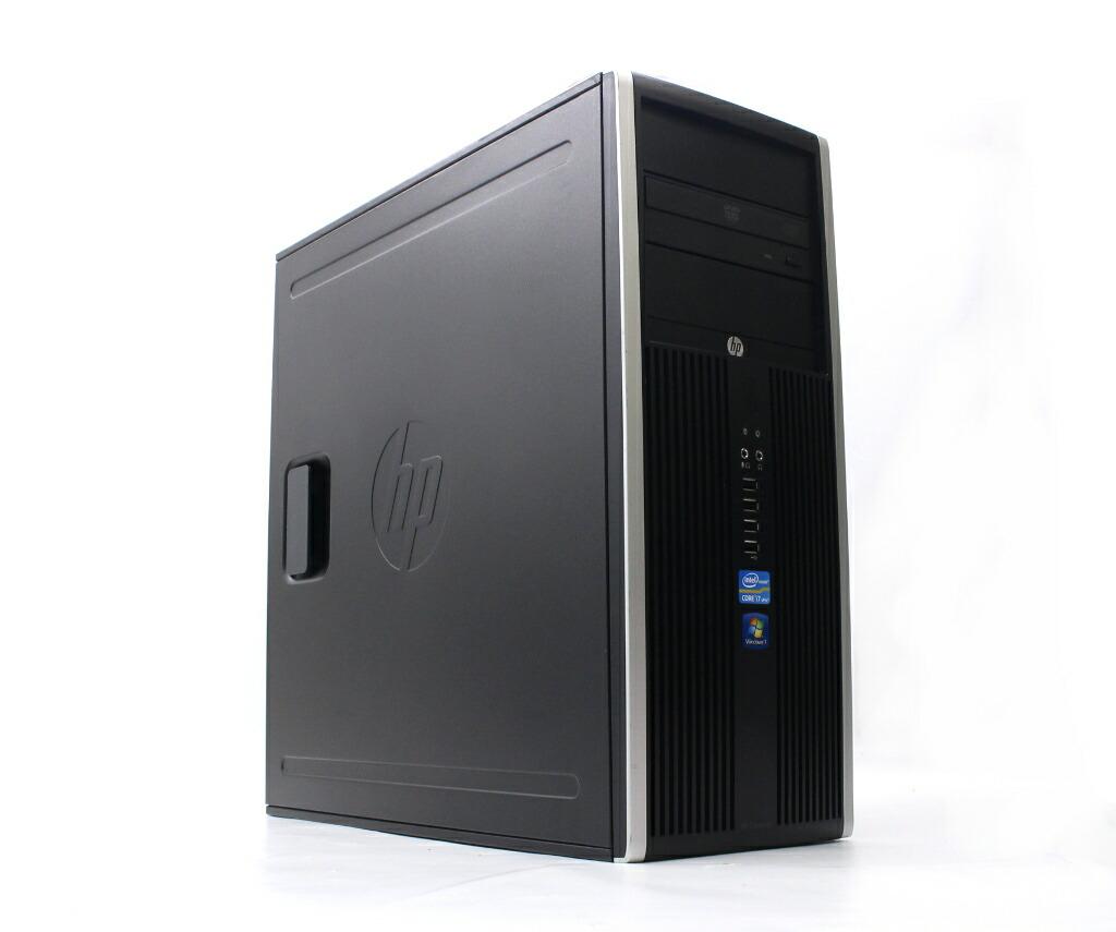 hp Compaq 8200 Elite CMT Core i7-2600 3.4GHz 4GB 250GB(HDD) DisplayPort Windows7 Pro 32bit