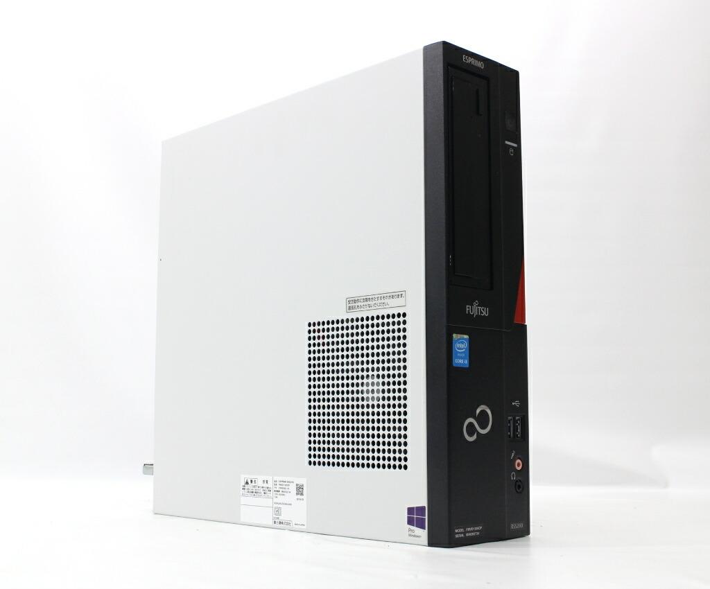 富士通 ESPRIMO D552/KX Core i3-4170 3.7GHz 4GB 500GB(HDD) DVI-D Windows10 Pro 64bit