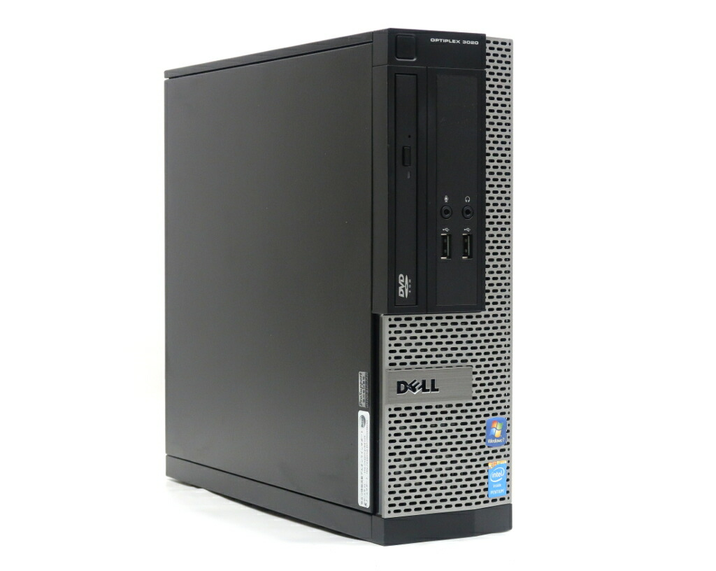 DELL OptiPlex 3020 SFF Pentium G3220 3GHz 4GB 500GB(HDD) Windows7 Pro 32bit