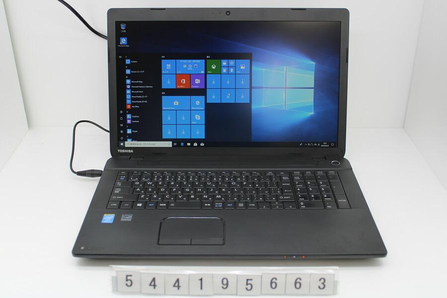東芝 dynabook B374/K Core i5 4300M 2.6GHz/4GB/320GB/Multi/17.3W/WXGA++/Win10【中古】【20190807】
