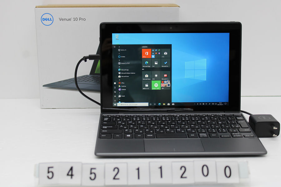 DELL Venue Win10 5055 Atom Z3735F 1.33GHz/2GB/64GB/10.1W/WXGA/Win10【中古】【20210513】