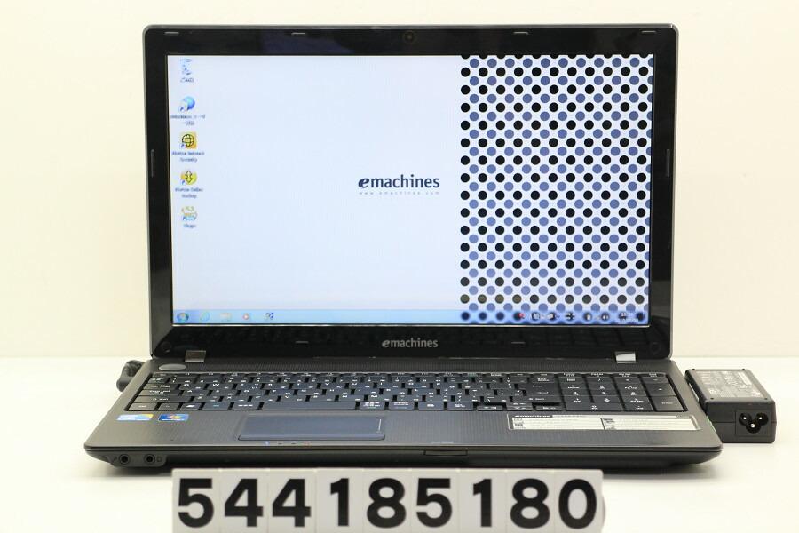 emachines E732-F32C Core i3 380M 2.53GHz/2GB/320GB/Multi/Win7 スピーカー不良【中古】【20180509】