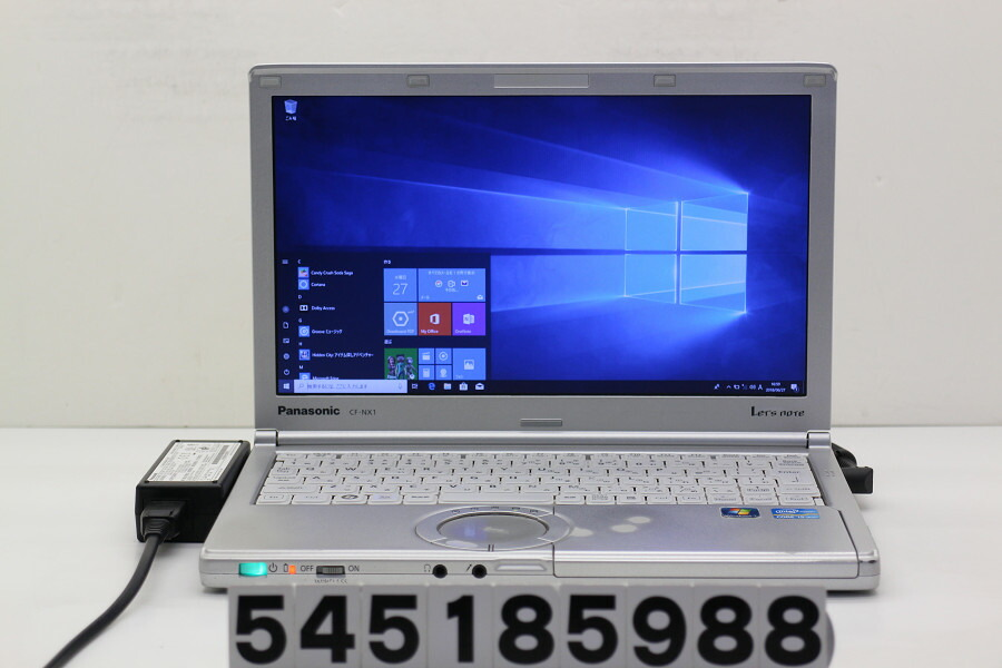 Panasonic CF-NX1GWGYS Core i5 2520M 2.5GHz/4GB/250GB/Win10 タッチパッド破損【中古】【20180628】
